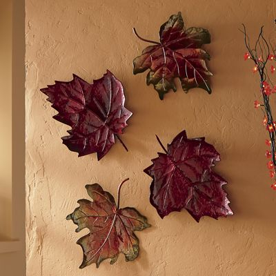 Set of 2 Falling Leaves