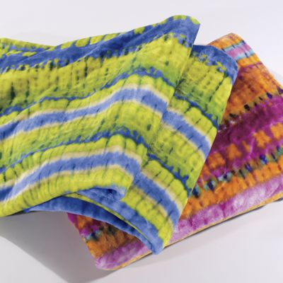 Yoko Tie-Dye Blanket