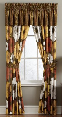 Gerbera Window Treatments