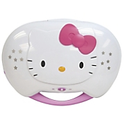 Hello Kitty CD Karaoke System/CD Player with AC Adapter