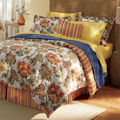 Atheana Jacobean Comforter Set and Accessories