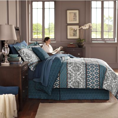 Meridian Comforter Set and Accessories