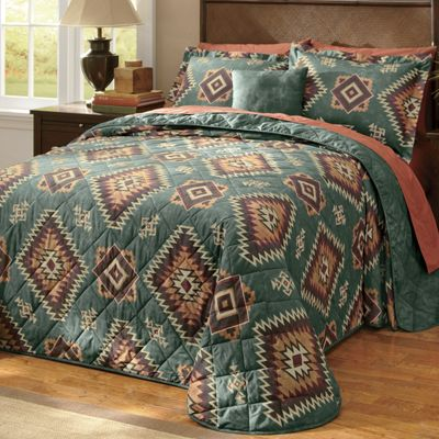 Tahoe Bedspread and Accessories