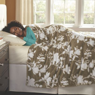 Plush Blanket and Throw
