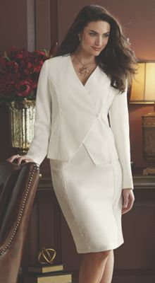 Vianca Lace Trim Suit
