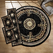 4-Piece Center Medallion Rug Set