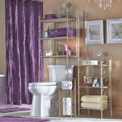 Pure Opulence Bathroom Storage