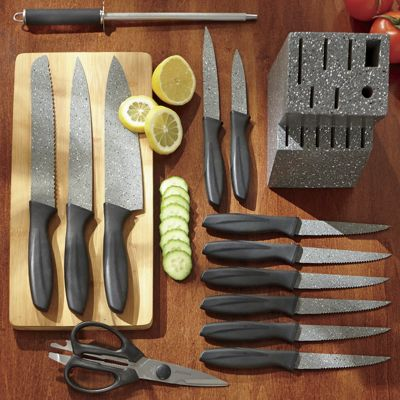 14-Piece Speckled Cutlery Set