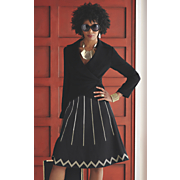Sukki Ponte Jacket and Skirt