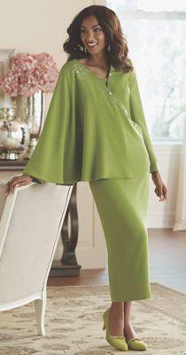 Kerani Caped Suit