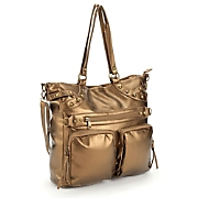 2-Pocket Metallic Bag