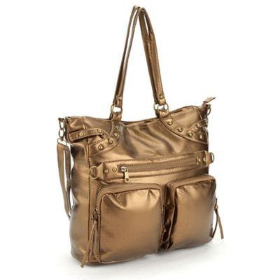2-Pocket Metallic Bag