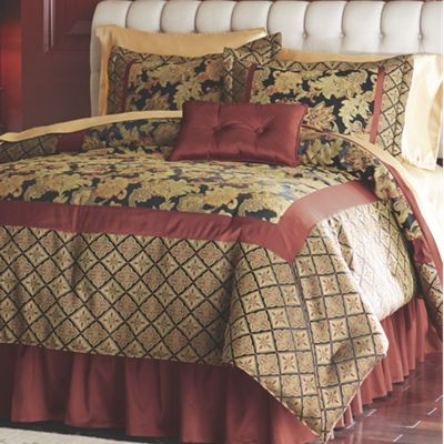 Madeline Comforter Set, Pillow and Window Treatments
