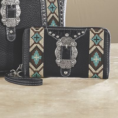 Concho Buckle Wallet by Montana West
