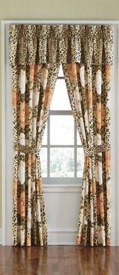 Wild Rose Window Treatments