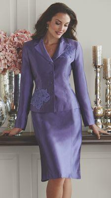 Lulu Lace Skirt Suit
