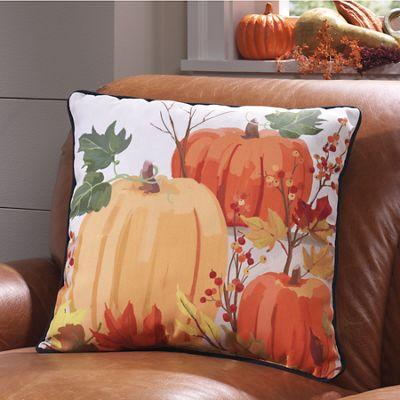 Fall Pumpkins Pillow