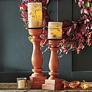 Orange Candleholders