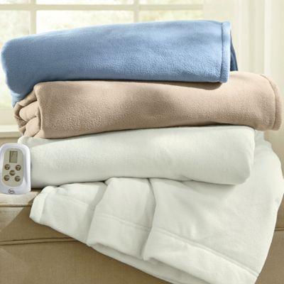 Serta Microfleece Electric Blanket