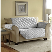 Reversible-Print Furniture Protector