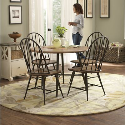 Modern Windsor Table and Chairs
