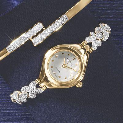 Diamond X-Link Watch