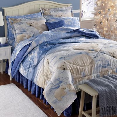 Polar Bears Complete Bedroom Set
