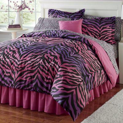 Animal Ombre Complete Bedroom Set