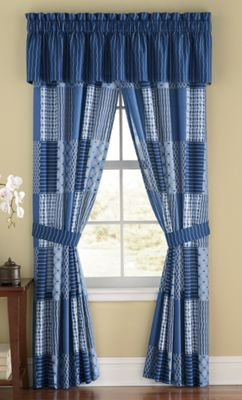 Ellington Blue Window Treatments