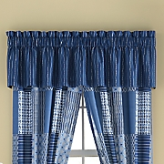 ellington blue valance