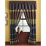 chester stripe window treatments