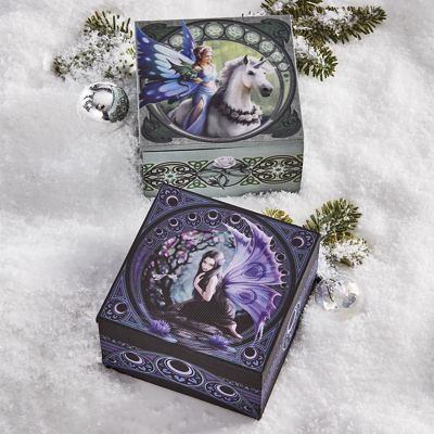 Naiad Mirror Box by Anne Stokes