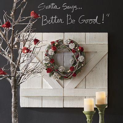 Set of 2 Decorative Barn Doors