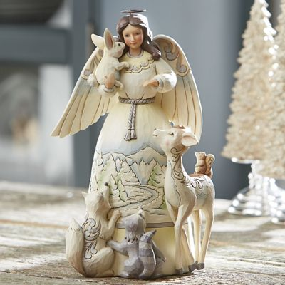 Jim Shore Peace To All Angel Figurine
