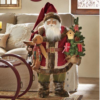 Standing Woodland Santa
