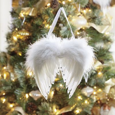 Angel Wings Ornament From Country Door Nc728646
