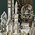 Tall LED Snow House