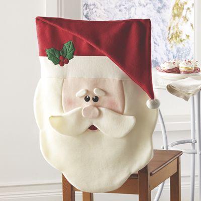Santa Chair-Back Cover