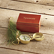 Compass with Personalized Box