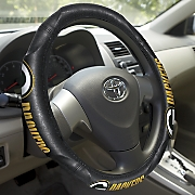 nfl   mlb steering wheel cover