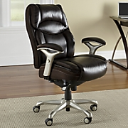 Faux Leather Ergonomic Chair by Serta