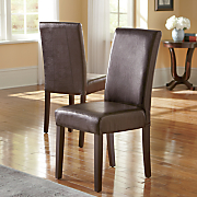 set of 2 parsons chairs
