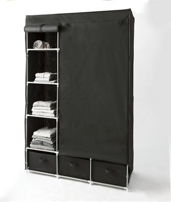 Hanging and Drawer Storage Wardrobe