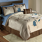 Felice 10-Piece Bed Set, Panel Pair and Valance
