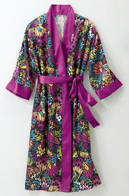 Water Color Robe/Gown Set