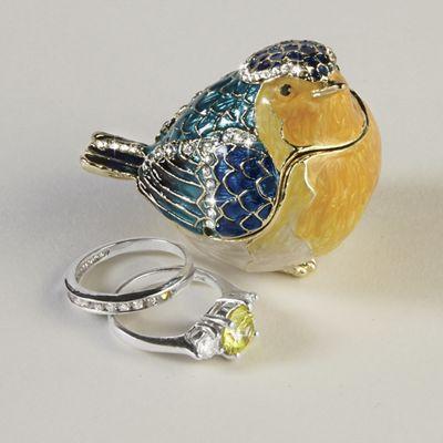 Bird Jewelry Box Decoration