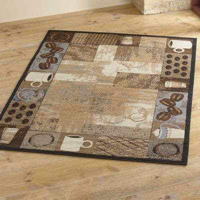 Coffee and Beans Rug