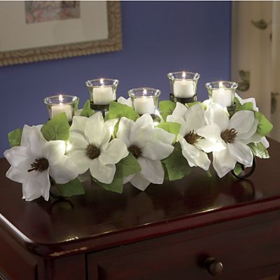 Magnolia Tabletop Centerpiece