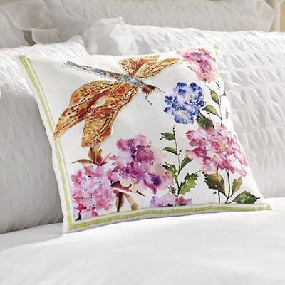Savannah Dragonfly Pillow