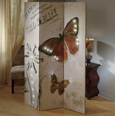 Butterfly Light Up Room Divider